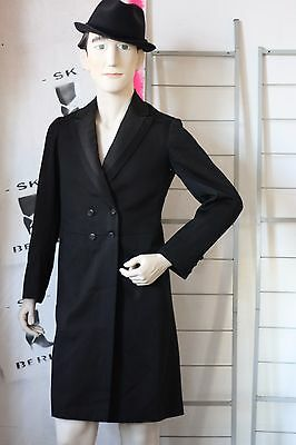 Otto Wollschläger Gehrock Frack 40er Anzug Mantel coat  True VINTAGE 40s frock