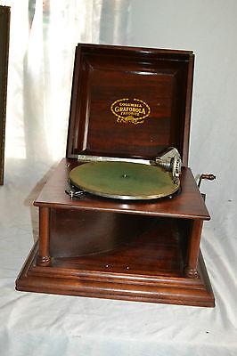 Antique Original Columbia Grafonola Favorite Patent Dates 1890's -1900's