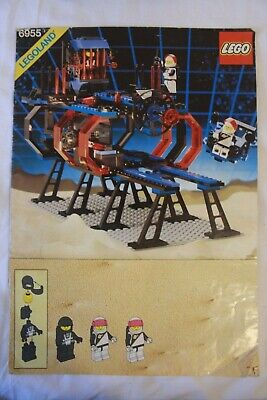 Vintage Lego Space Police Lock-up Isolation Base 6955 - 100% complete w/manual