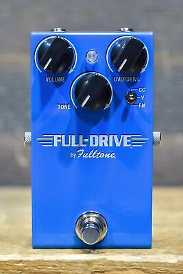 Fulltone Full-Drive 1 Single Channel 3-Mode Overdrive Guitar Effect Pedal