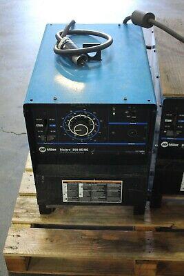 Miller Dialarc 250 Acdc Welder 250a Working