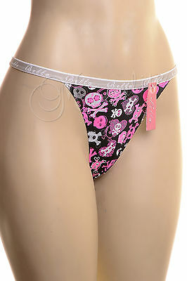Lot of 6 Pairs Women Pretty Panty G-String Sexy Thong Mixed Colors S M L XL -