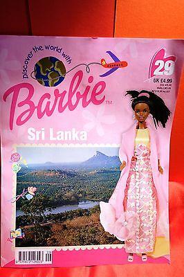Discover the World with Barbie, magazine & clothes, Sri Lanka No 29