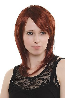 Outrageously Sexy! Women's Wig Red Medium Length Layered Parting - Outrageous Wigs