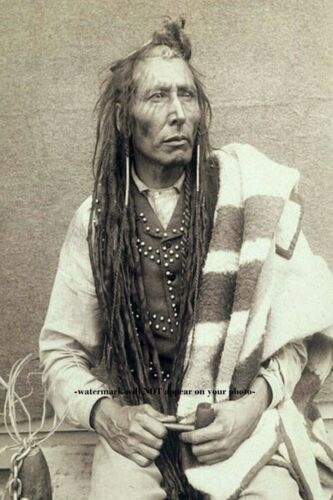 1885 Chief Poundmaker PHOTO Cree Indian Plains Cree First Nation