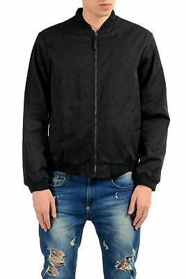 Versace Jeans Men's Black Full Zip Bomber Light Jacket US S IT 48