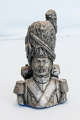 Antique Wentworks Hand Painted French Grenadier Bust Napoleon Waterloo