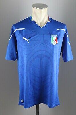 Italien Trikot 2010 Gr. L Jersey WM Home blau Italy maglia WM Puma Italia gebraucht kaufen  Bornheim