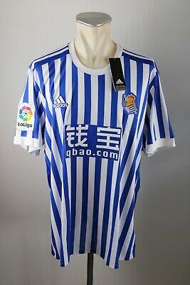 Real Sociedad Trikot Gr. XXL 2017-2018 Shirt Home Jersey 2XL San Sebastian Blau image