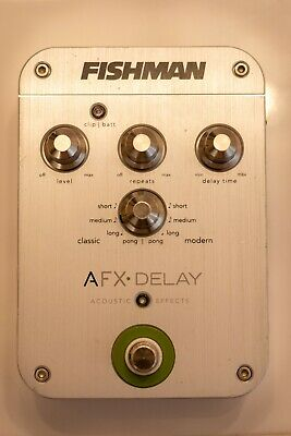 FISHMAN AFX DELAY Acoustic Effect Pedal - gently used, very good condition