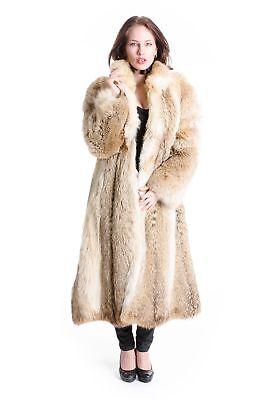 Coyote Coat Luxury Fur Style Fur Luxury Design Fashion 38 - 40 for шуба