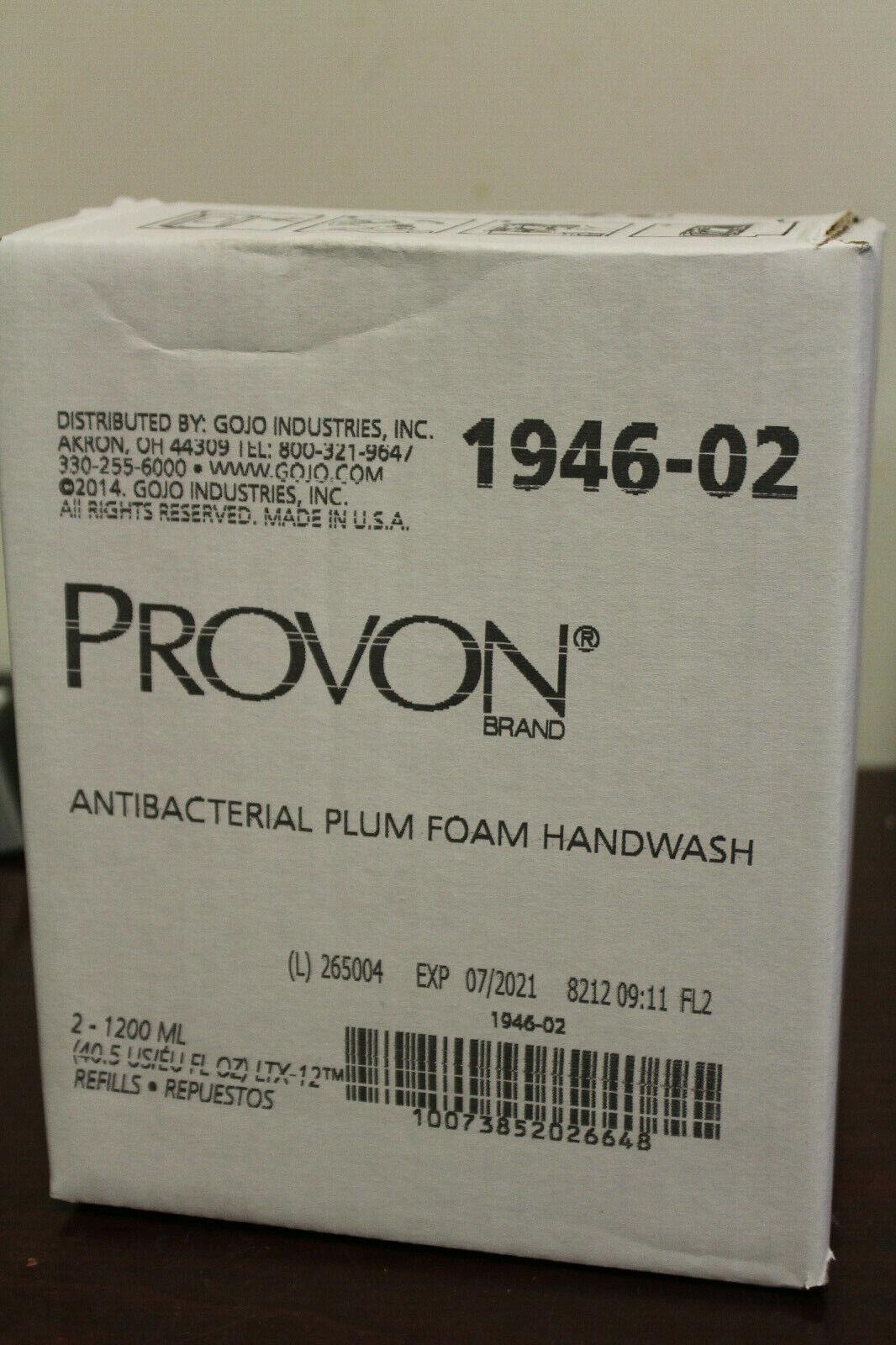 Provon 1200 mL Plum Antibacterial Soap Refill, 1946-02