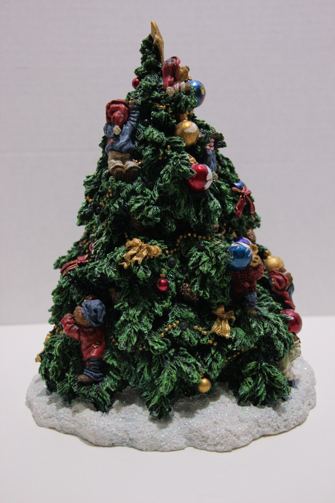 Boyds Bears Friends - The Twelve Days Of Christmas - Lighted Tree - $65.00