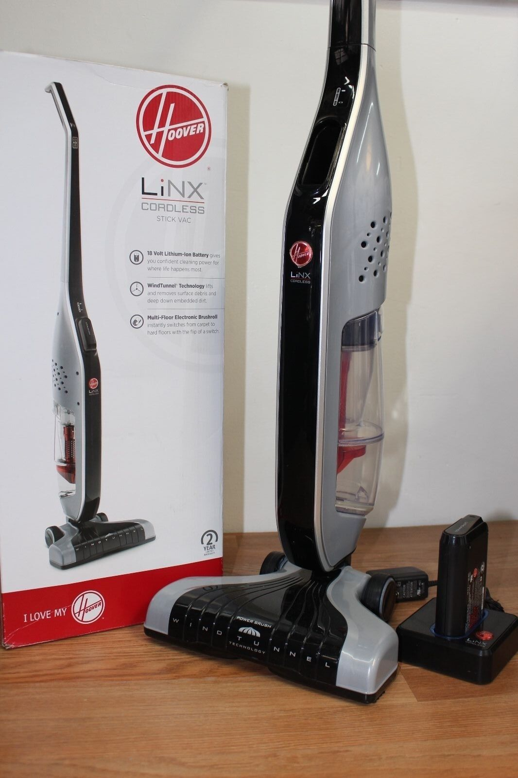 Hoover Linx Cordless Stick Vacuum Cleaner Bh50010
