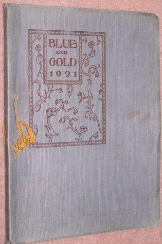 1921 Findlay High School Yearbook Annual Findlay Ohio OH