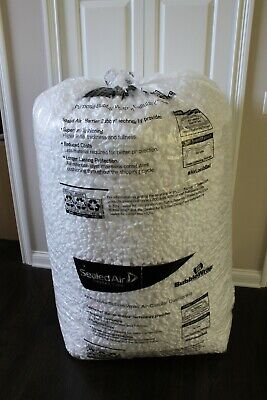 Styrofoam White Packing Peanuts Giant Bag 30 Cubic Feet