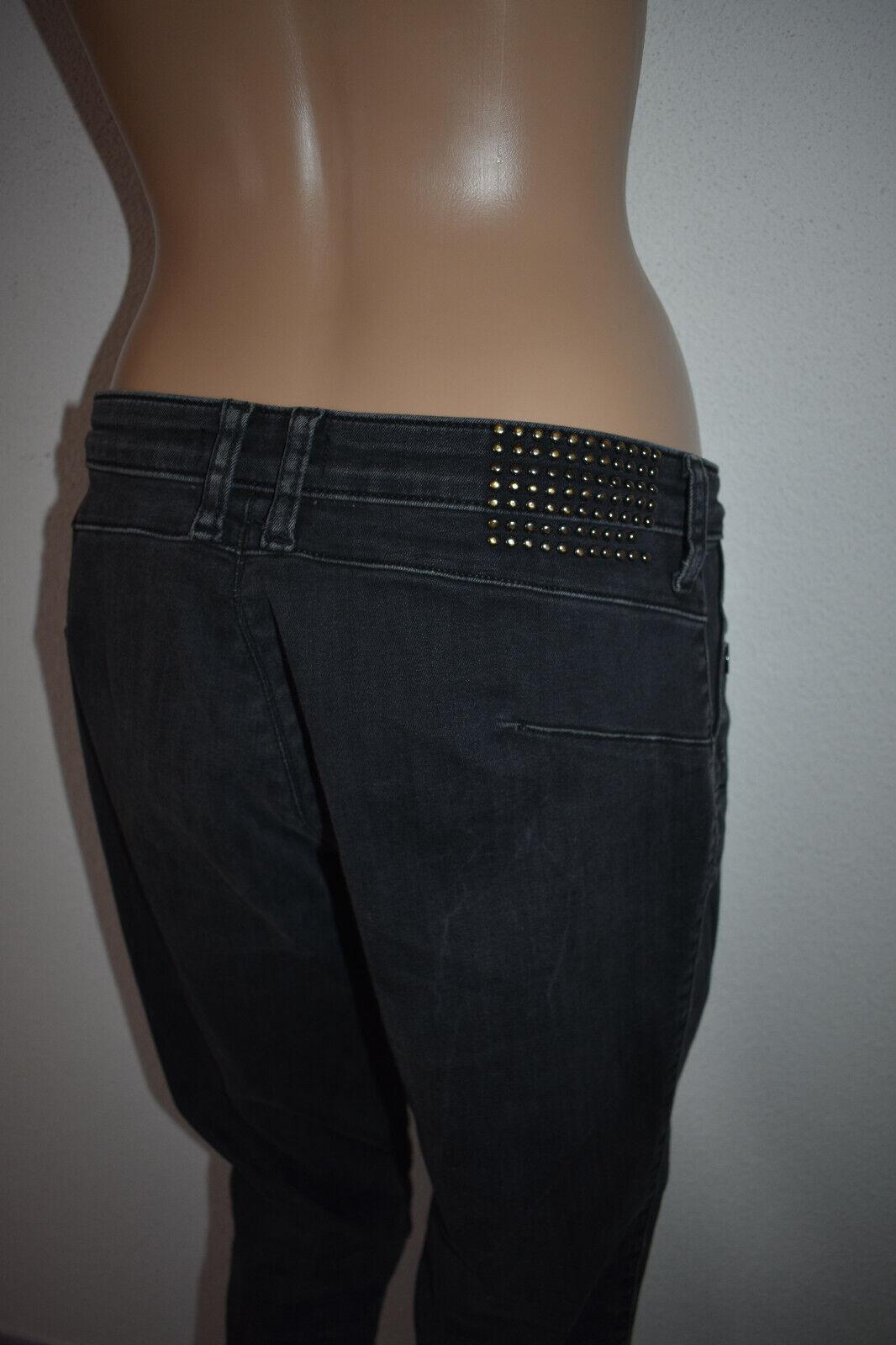 Guess femme jean curve & chino skinny denim gris 38-s / 31x30