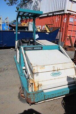 Tennant Street Power Sweeper 255ii Propane
