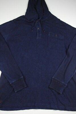 Polo Ralph Lauren Naval Clothing Factory Hoodie Mens Sz XLT Sweatshirt Pullover