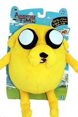 New Adventure Time Jake Collectors Doll Soft Plush Toy 10  W Dead Battery