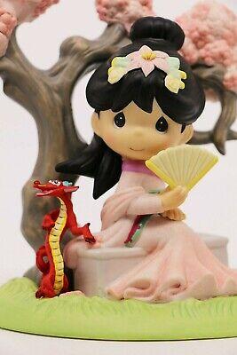 BNIB Precious Moments A BLOSSOM IS NEVER TOO LATE TO BLOOM 143019 Princess Mulan