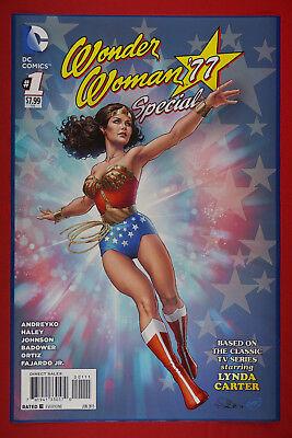 New Tv Show Poster - Wonder Woman '77 Special #1 DC Comic Lynda Carter TV Show Poster 24X36 New  WW#1