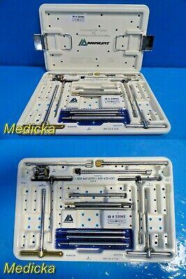Depuy Mitek Innovasive Cor Sys For Cartilage Bone Grafting Instr Set 22082