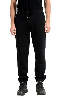 Versace Jeans Men's Black Track Sweat Pants