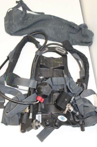 MSA SCBA Blackhawk Frame Harness Nightfighter transmitter Firehawk Firefighter