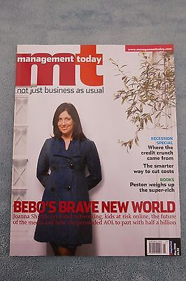 Management Today Magazine: May 2008, Joanna Shields at Bebo