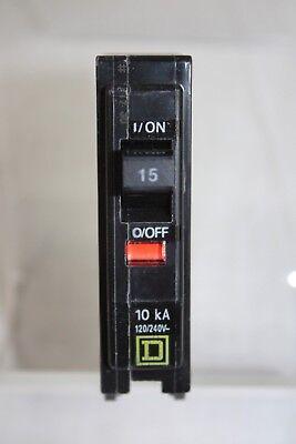 Square D Qo 15 Amp Single Pole Circuit Breaker