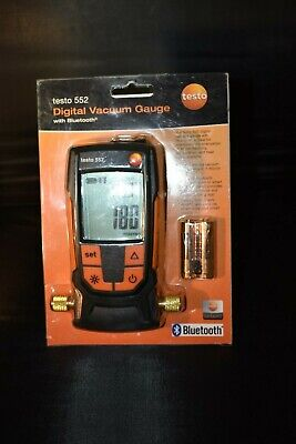 Testo 0560 5522 01 - 552 Digital Vacuum Micron Gauge With Bluetooth