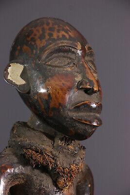 KONGO STATUE AFRICAN TRIBAL ART AFRICAIN ARTE AFRICANA AFRIKANISCHE KUNST **