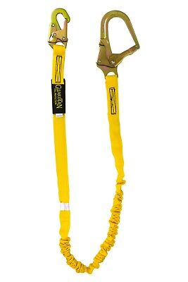 Guardian 6 Single Leg Lanyard With Rebar Hook 11201