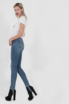 SIWY DENIM Reed Stirrup Slim Skinny Jeans Temporary Heroes Blue 24 $219 #34