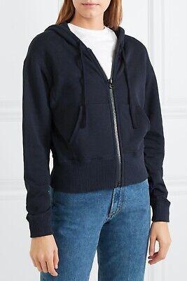 James Perse Everyday Essential deep blue zip hoodie sz 3