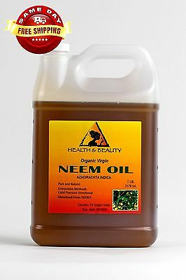 NEEM OIL ORGANIC UNREFINED CONCENTRATE VIRGIN COLD PRESSED RAW PURE 7 -