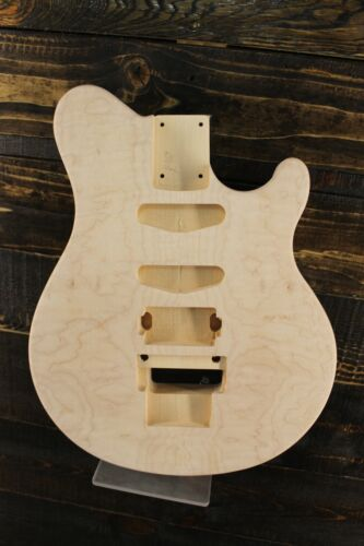 MJT Official Custom Order Vintage Aged Nitro Guitar Body Mark Jenny QuiltedMaple