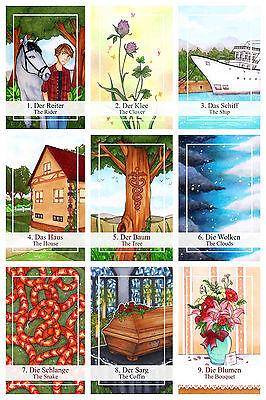 Lovely Lenormand neu new Tarot Orakelkarten Oracle Cards Kartendeck