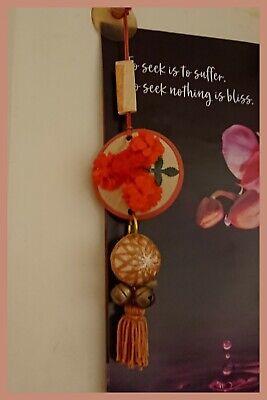 VINTAGE JAPANESE TEMARI BALL HANGING - vintage temari ball, wall hanging, luck
