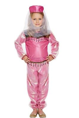 Girls Bollywood Fancy Dress Up Costume Party Outfit Ages 4-9 yrs NEW