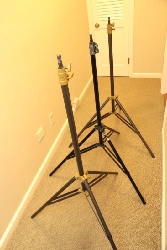 3 Lowel KS light stands