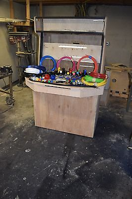 4 Player Upright Arcade DIY Kit with Joysticks, Buttons, Encoder, and More!