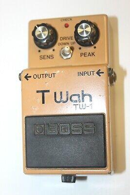 Boss T-WAH Black Label Guitar Pedal - JAPAN July 1986  #R3151