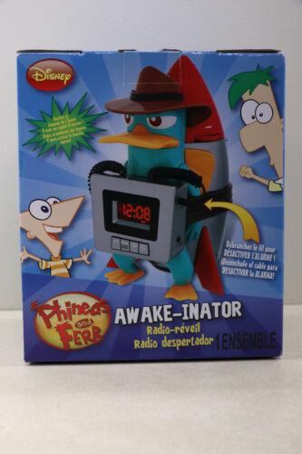 "NEW Disney Phineas & Ferb Perry The Platypus Alarm Clock "" The Awake-inator """