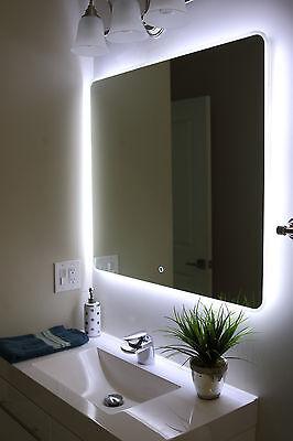 "Windbay 36"" Backlit Led Light Bathroom Vanity Sink Mirror. Illuminated Mirror."