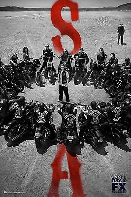 Sons Of Anarchy Season 5 Fx Tv Poster  24X36    Charlie Hunnam  Katey Sagal New