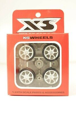 XS Tuning Custom Wheels & Accessories 1/24 Model Car Parts #17-10011 Speed RS