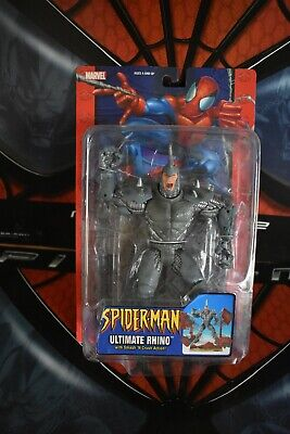 "Marvel Legends SPIDER-MAN CLASSICS Ultimate Rhino 6"" action figure"