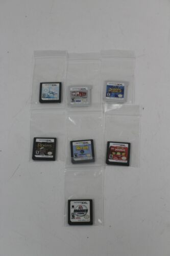 Nintendo DS and 3DS Game lot 7 Games Pre-owned Game Only